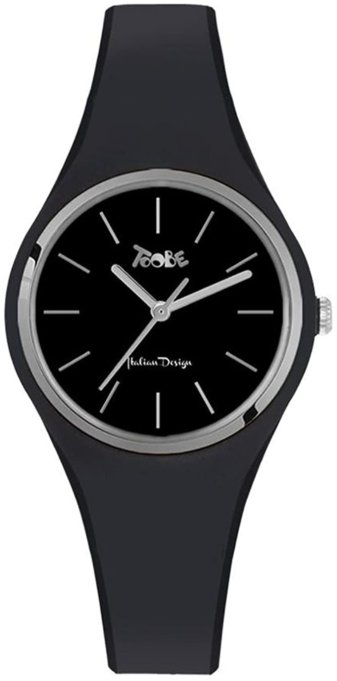 TOOBE UNISEX BLACK WITH SILVER INDEX