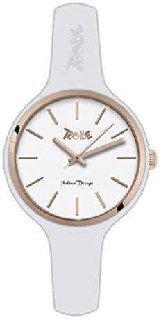 TOOBE SMALL WHITE AND ROSEGOLD INDEX