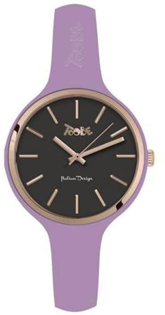 TOOBE SMALL PURPLE AND BLACK DIAL