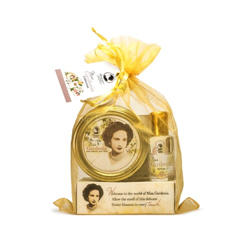 GARDENIA PETITE Miss Collection (Petite Body Cream, Petite Parfum, Perfumed Body Soap)