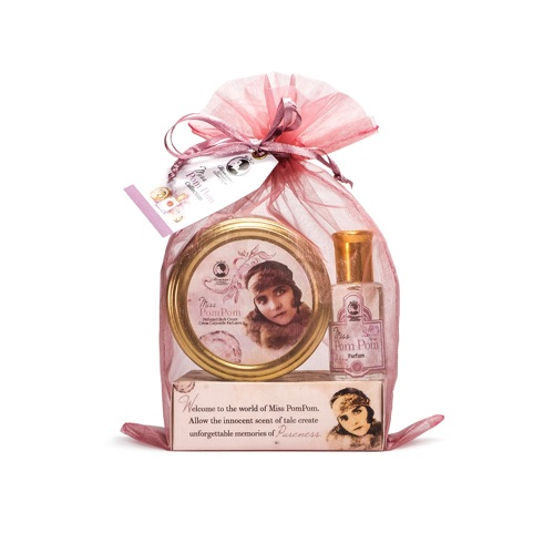 POMPOM PETITE Miss Collection (Petite Body Cream, Petite Parfum, Perfumed Body Soap)