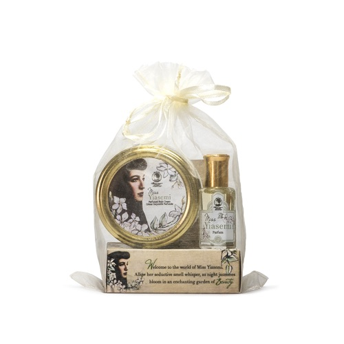 YIASEMI PETITE Miss Collection (Petite Body Cream, Petite Parfum, Perfumed Body Soap)