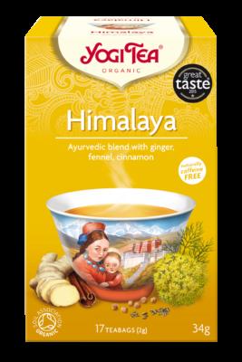 YOGI TEA, HIMALAYA 17 T.BAGS BIO