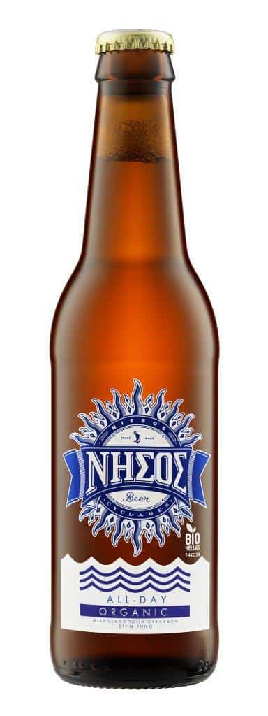BEER NISSOS ALL DAY LAGER BIO 330ML