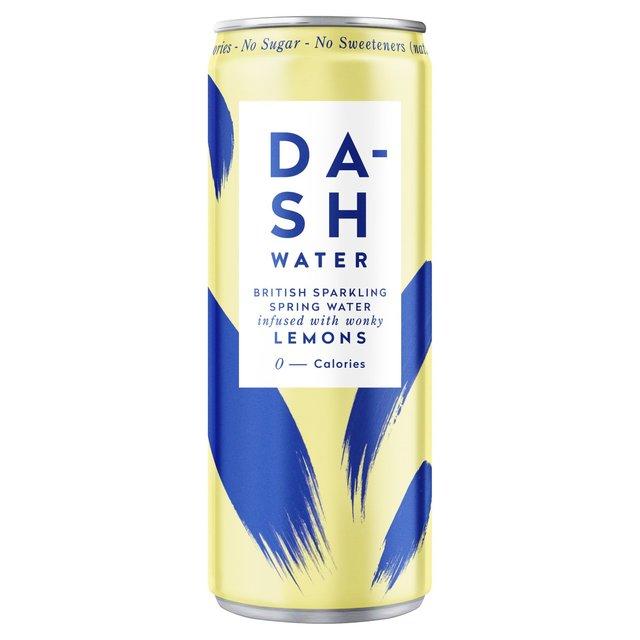 DASH-WATER LEMON 330ML