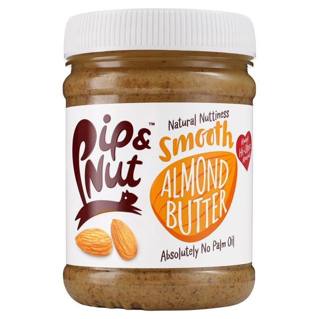 PIP AND NUT SMOOTH ALMOND BUTTER 225GR