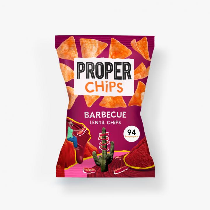 PROPER BBQ Chips Singles 20gr