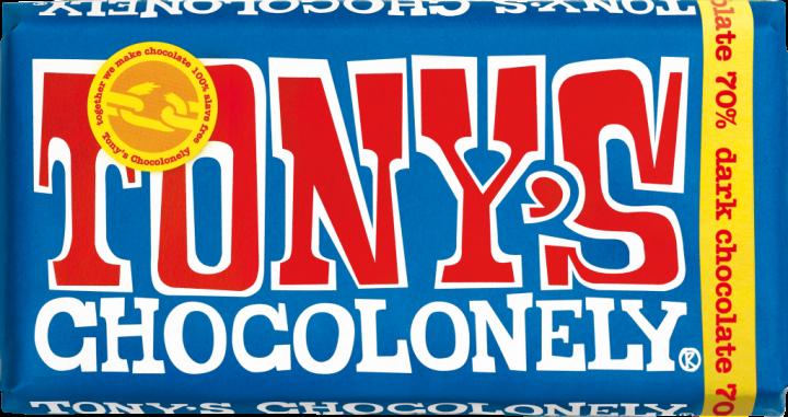 Tony's Chocolonely Dark Chocolate 180gr
