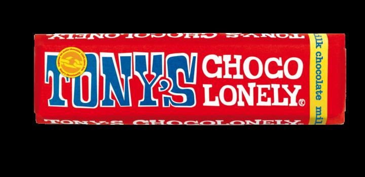 Tony's Chocolonely Milk Chocolate 50gr