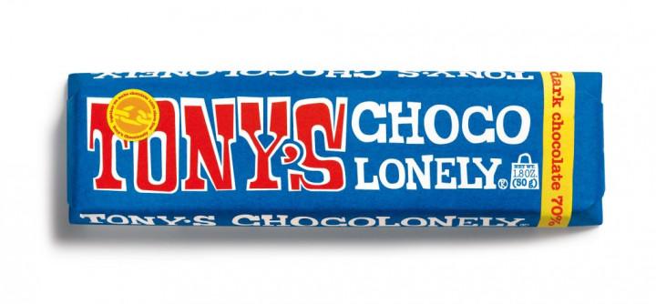 Tony's Chocolonely Dark Chocolate 50gr