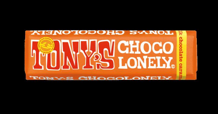 Tony's Chocolonely Milk Chocolate Caramel & Sea Salt 47gr