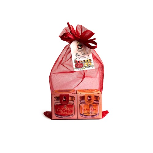 BEE KISS SET STRAWBERRY