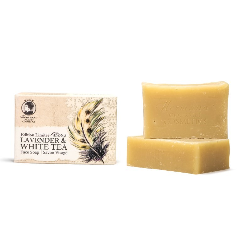 Lavender & White Tea Face Soap