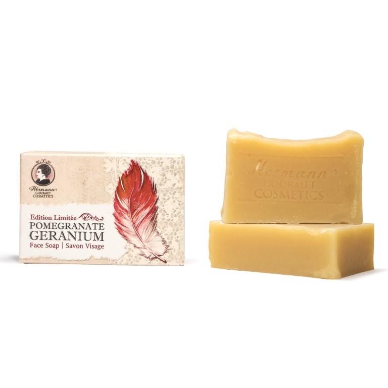 Pomegranate Geranium Face Soap
