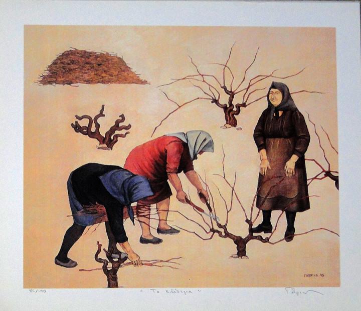 Pruning - 37x43cm