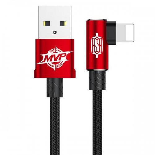Calmvp-09 MVP Elbow USB - Lightning Cable 1 Meter (Red)