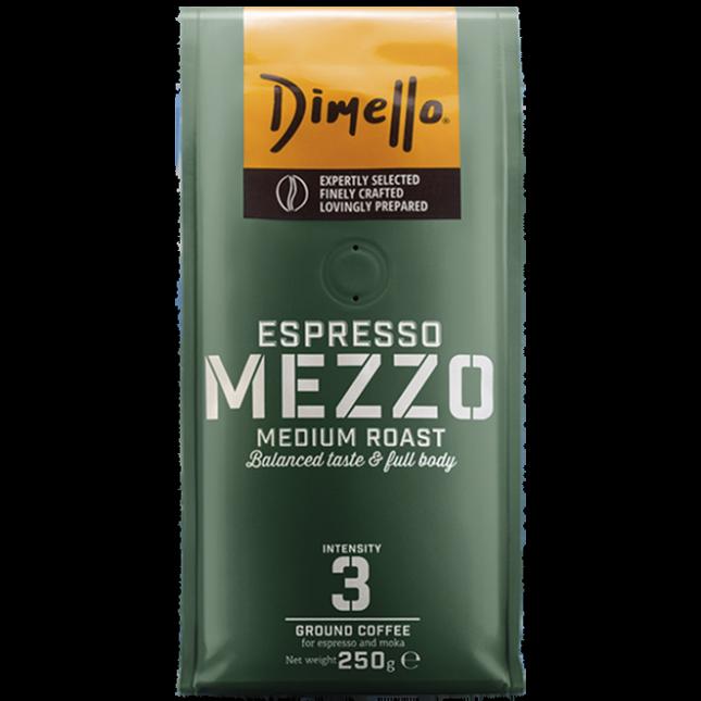 Dimello - ESPRESSO MEZZO GROUND 250gr