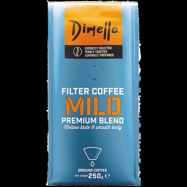 Dimello - FILTER MILD GROUND 250GR