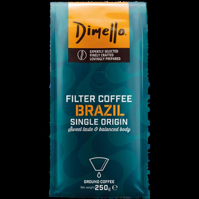Dimello - FILTER BRAZIL GROUND. 250GR