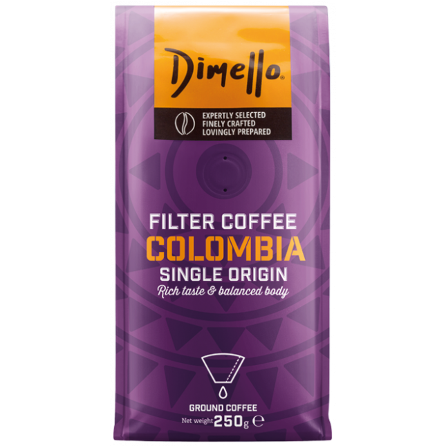 Dimello - FILTER COLOMBIA GROUND 250GR