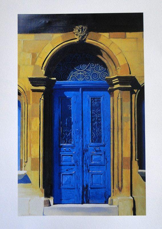 Nicosia Door - 70x50cm