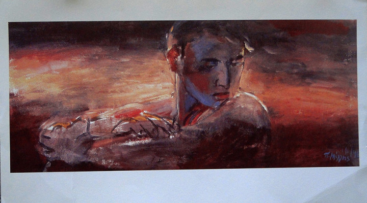 Pink Young Man - 40.5x70cm
