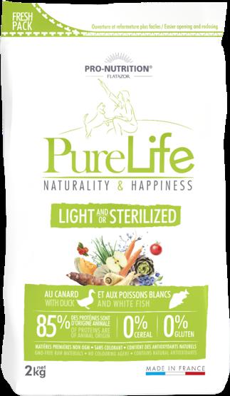 PURELIFE LIGHT/STERILZED 2kg