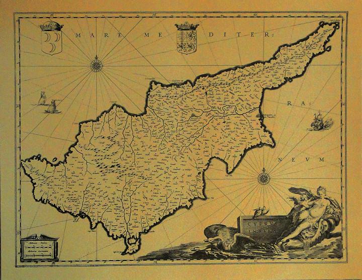 Cyprus Insula  - 34x43.7cm