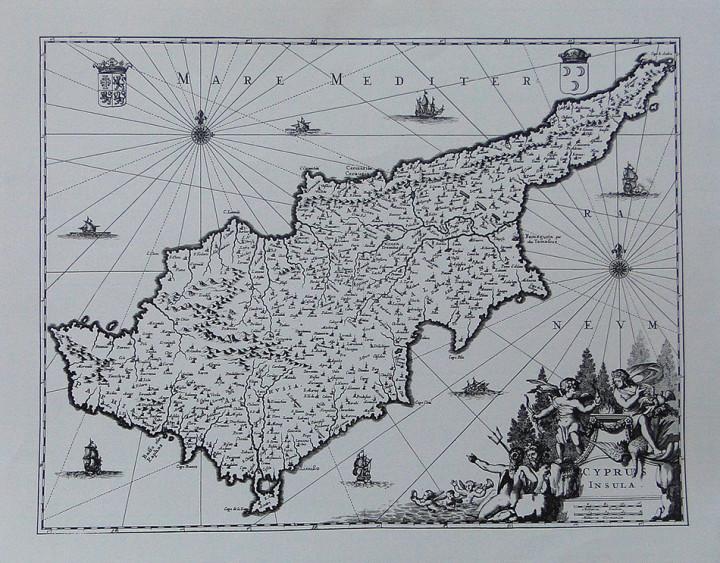 Cyprus Insula  - 33.8x42.7cm