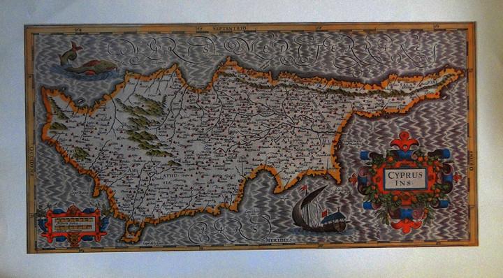 Cyprus Ins  - 31.5x55cm