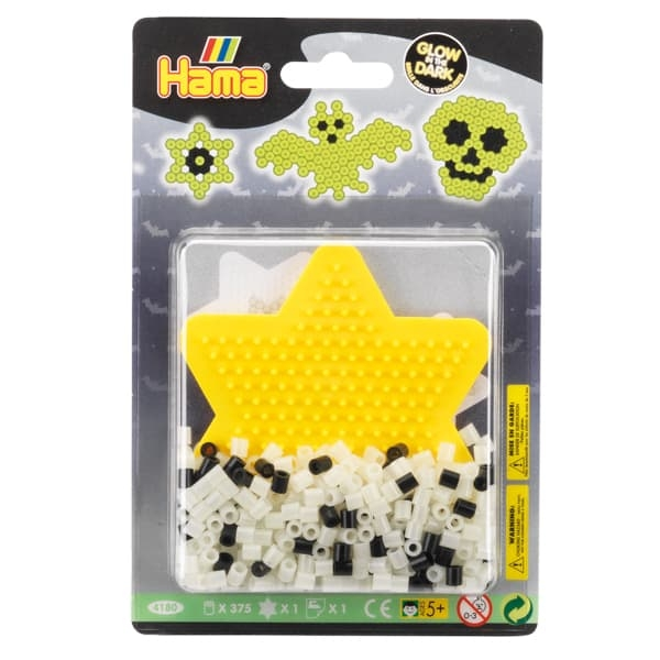 Hama Beads Glow in the Dark Starter Pack