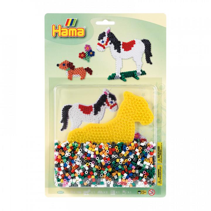 Hama Beads Horse & Dog Starter Pack