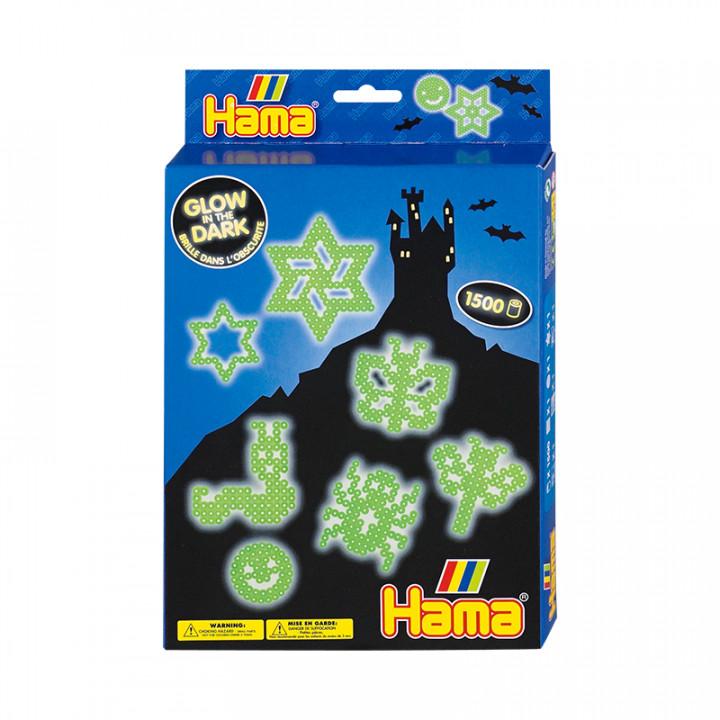 Hama Beads Glow in the Dark Gift Set