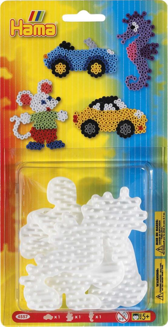 Pegboard Hama Beads small 3pcs