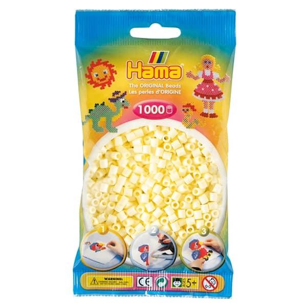 Hama bag of 1000 - Cream