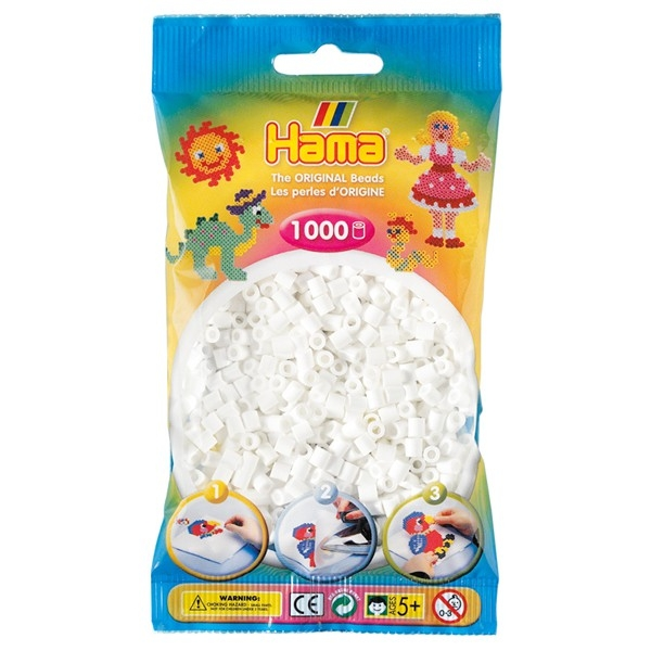 Hama bag of 1000 - White