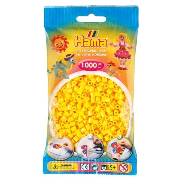Hama bag of 1000 - Yellow