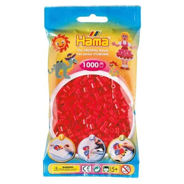 Hama bag of 1000 - Red