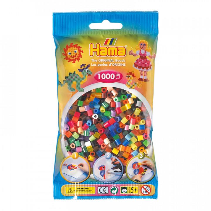 Hama bag of 1000 Colour Mix Beads