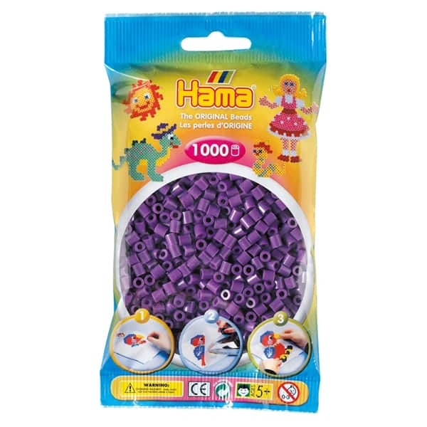 Hama bag of 1000 - Purple