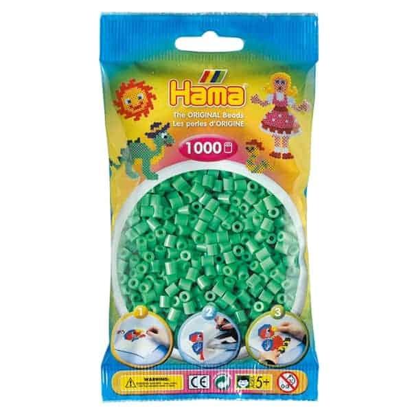 Hama bag of 1000 - Light Green