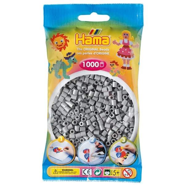 Hama bag of 1000 - Grey