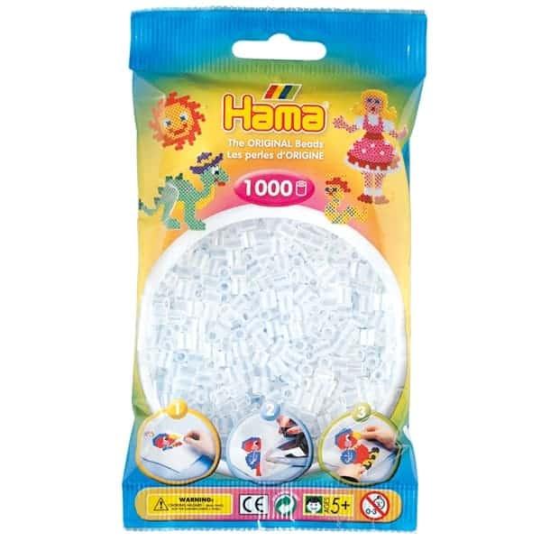 Hama bag of 1000 - Clear