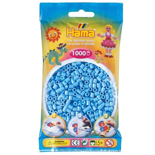 Hama bag of 1000 - Pastel Blue (Aqua)