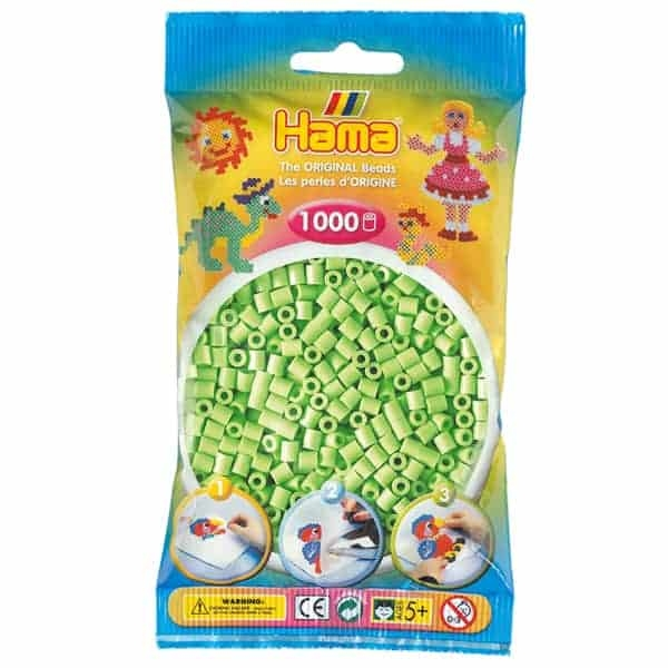 Hama bag of 1000 - Pastel Green (Lime)