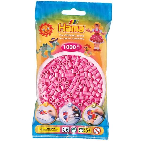 Hama bag of 1000 - Rose Pink