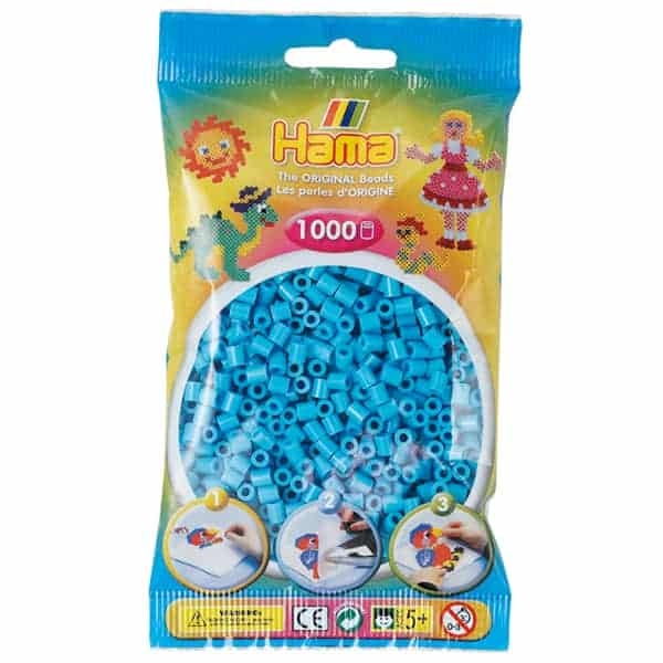 Hama bag of 1000 - Azure
