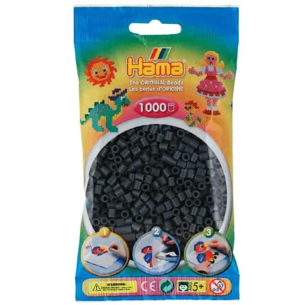 Hama bag of 1000 - Dark Grey
