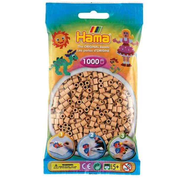 Hama bag of 1000 - Tan