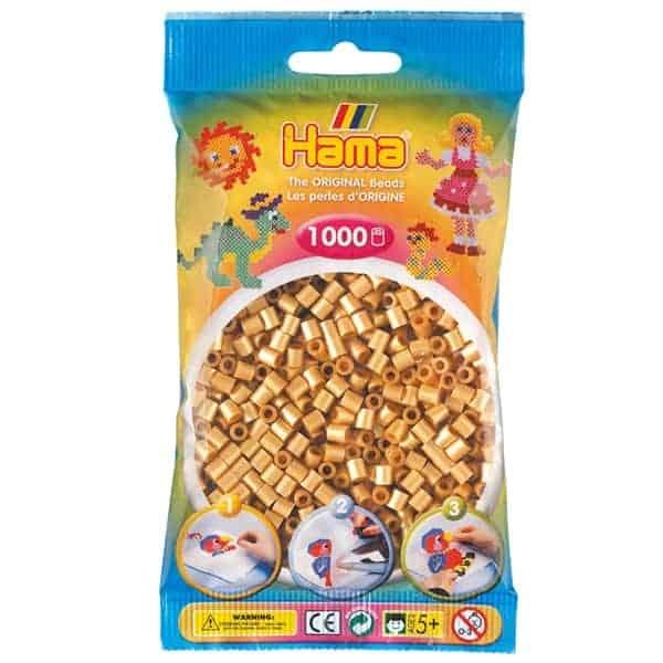 Hama bag of 1000 - Gold